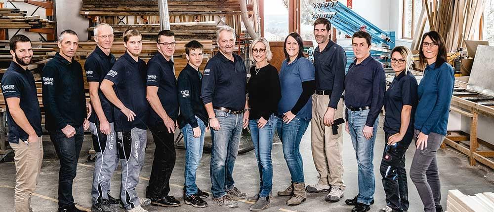 Tischlerei Thaller Team