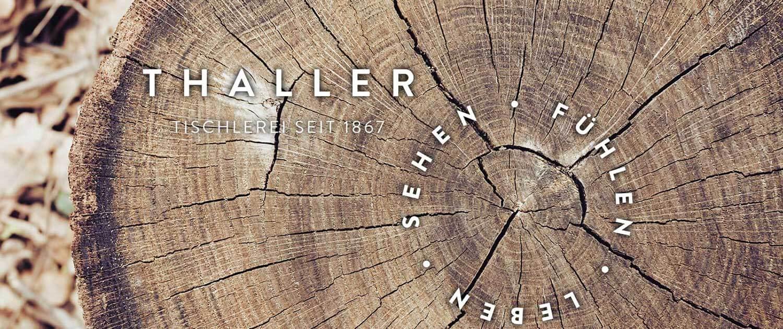 Tischlerei Thaller - Tradition und Handwerk
